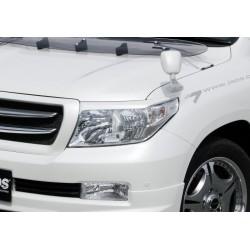 Накладки на передние фары (реснички) JAOS Toyota LC-200 -12 B070048