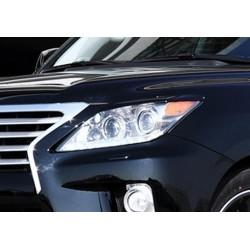 Купить Накладки на передние фары (реснички) Jaos LEXUS 570 2012+ B070251