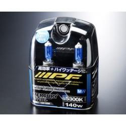 Галогеновые лампы X62R IPF X Set H11/H9 12V 140W 5300K Blue