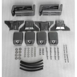 Крепление багажника для боковых ливнестоков 85мм (комплект 4шт)