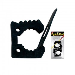 Крепление резиновое QUICK FIST rubber clamp blister pack