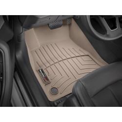 Коврик в салон WeatherTech (США) FloorLiner для Audi A5 2018+ /Передний ряд/ (кузов Sportback) /бежевый