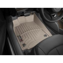 Коврик в салон WeatherTech (США) FloorLiner для Audi A6 2012 - 2018 /Передний ряд/бежевый