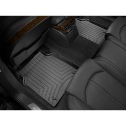 Коврик в салон WeatherTech (США) FloorLiner для Audi A8 2011 - 2017 /Задний (второй) ряд/ черный