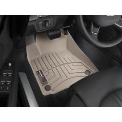Коврик в салон WeatherTech (США) FloorLiner для Audi A8 2011 - 2017 /Передний ряд/ кузов D4 (Typ 4H) /бежевый