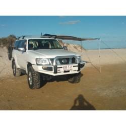 Бампер ARB Sahara на  Nissan Patrol Y61 04-10