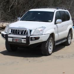 Бампер ARB Sahara на  Toyota Prado 120 03-09
