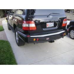 Задний бампер ARB на Toyota LC-100 IFS черный