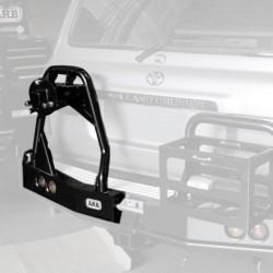 Калитка запаски  ARB на Toyota LC-80  LHS черный