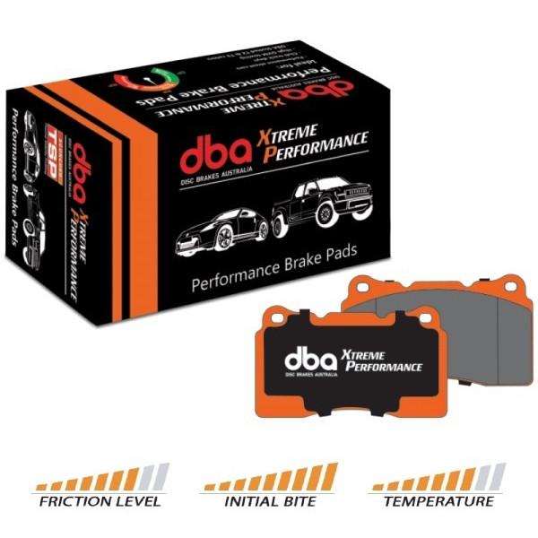 Купить Тормозные колодки DBA Xtreme Performance для Toyota RAV-4 13+/Highlander 08+, передние DB2004XP D.B.A.