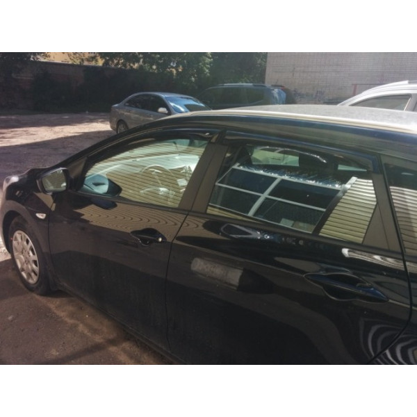 Купить Ветровики на окна (тониров.) EGR HYUNDAI I30 wagon 2013+  92435029B Egr