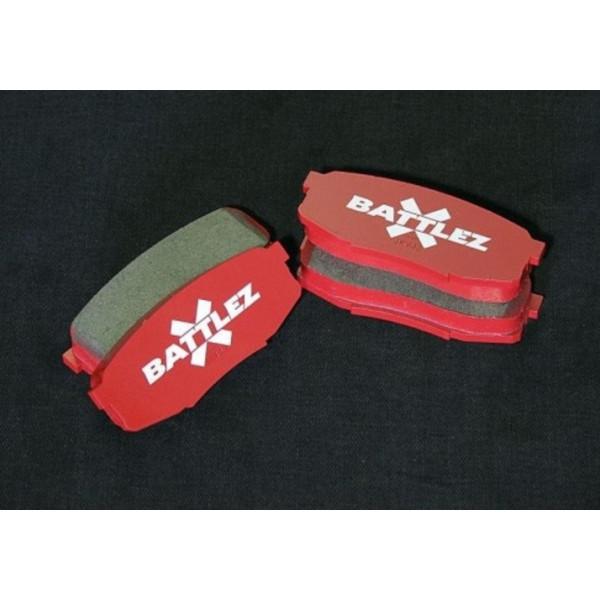Купить Тормозные колодки BATTLEZ задние Mitsubishi Pajero 00+  JAOS522310 Jaos
