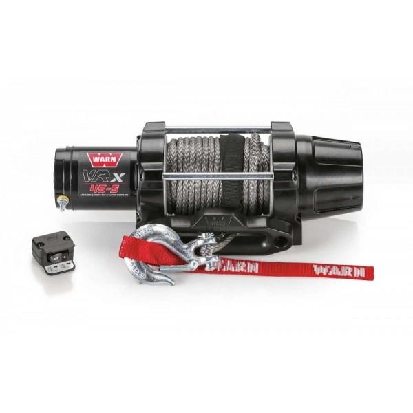 Купить Лебедка WARN VRX 45-s ATV Winch 4500-s 12V 101040 Warn
