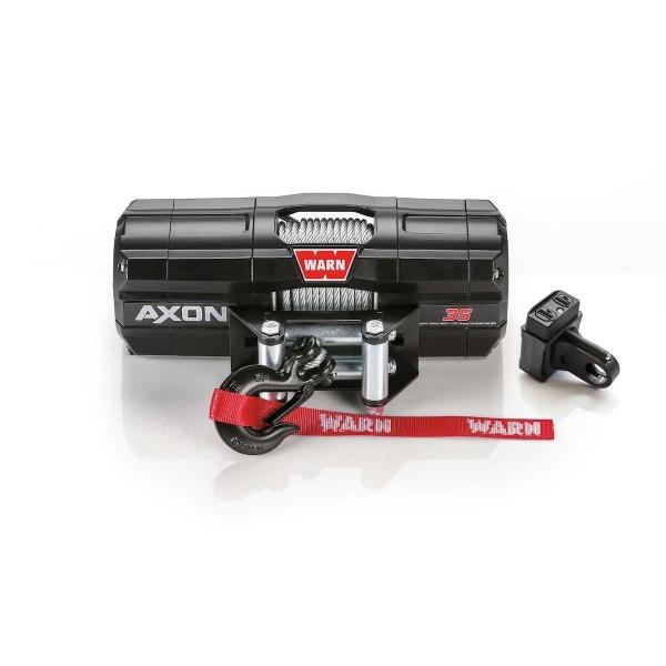 Купить Лебедка WARN AXON 45-s ATV Winch 4500-s 12V 101140 Warn