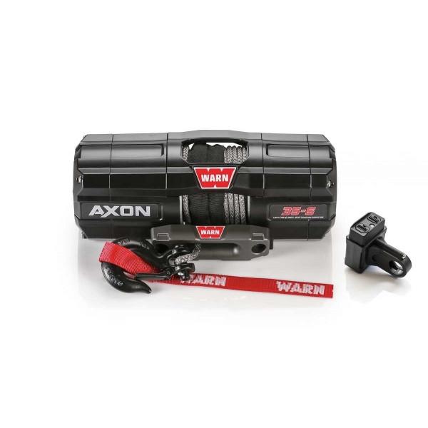 Купить Лебедка WARN AXON 35-s ATV Winch 3500-s 12V 101130 Warn