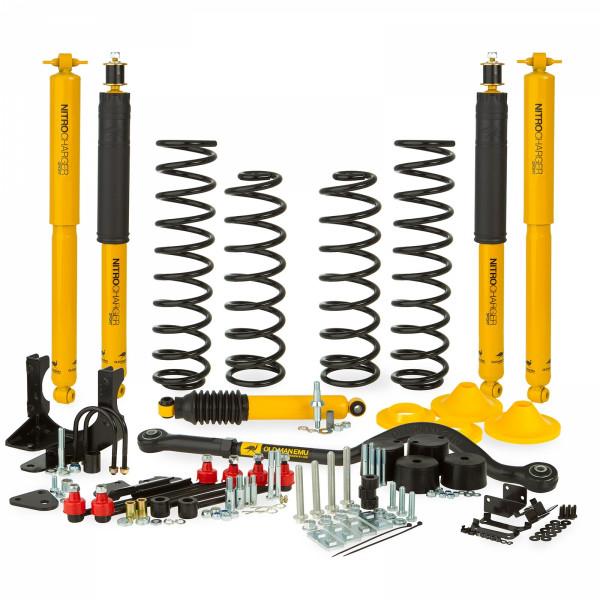 Купить Лифт комплект подвески OLD MAN EMU 100 мм. Jeep Wrangler JK 06+ OMEJK4 Ome