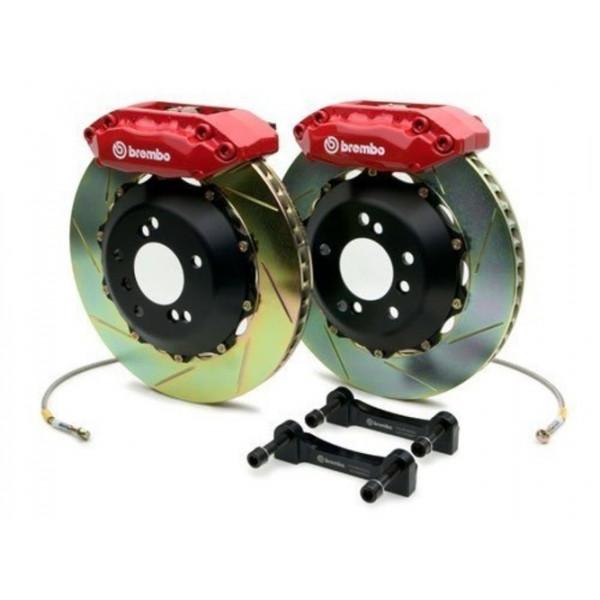 Купить Гальмівна система BREMBO GT TOYOTA LC200/LX'570 15+ зад. черв. супорт (диск з насічками) 2P2.9051A2  Brembo
