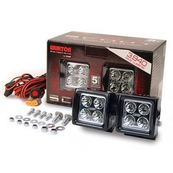 Купить Светодиодныефары направленного светаWURTON38041 Wurton