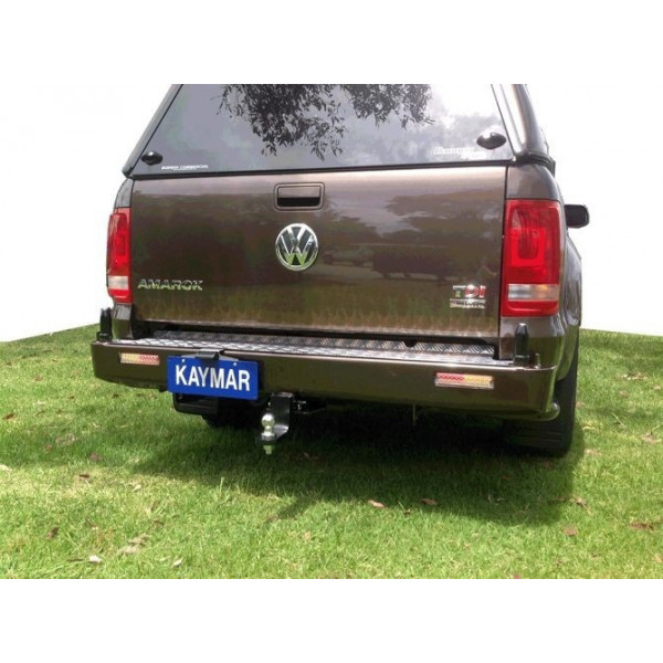 Купить Задний защитный бампер KAYMAR с двумя штоками VW Amarok 10+ K3900 Kaymar