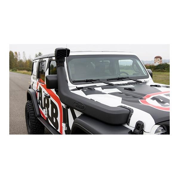 Купить Выносной воздухозаборник SAFARI JEEP Wrangler JL ALL LHD 18+ SS1080HF ARB/SAFARI