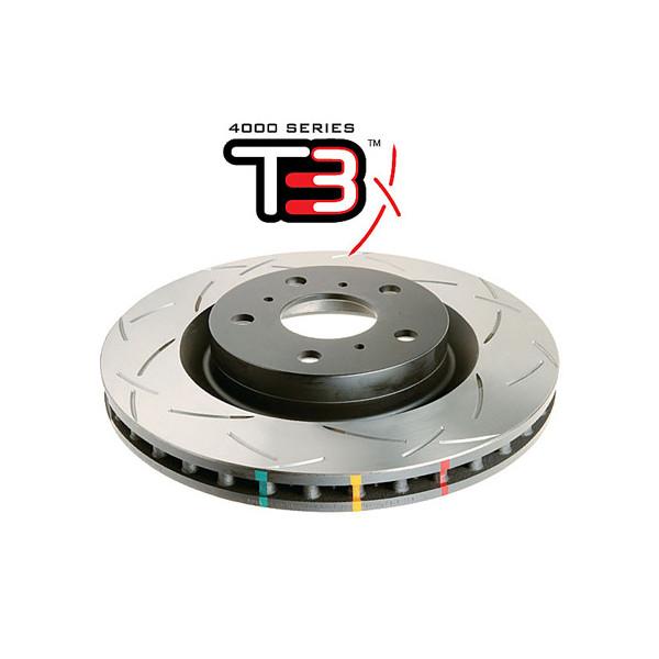 Купить Усиленный Вентилируемый Тормозной Диск T3 SLOT TLC150 09+ передний DBA42736S D.B.A.