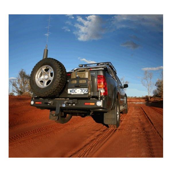 Купить Выносной крепеж запасного колеса KAYMAR к заднему бамперу на левую сторону TOY Hilux 05+ K1096 Kaymar