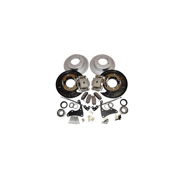 Купить Комплект конверсии задних барабанных тормозов в дисковые Pedders PBCK002X (без підшипників) для Toyota Hilux 2015+ Pedder
