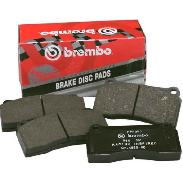 Купить Комплект усиленных тормозных колодок BREMBO SPORT Brake Pads kit GT 107.C741.10 Brembo