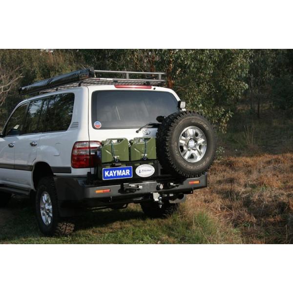 Купить Выносной крепеж запасного колеса KAYMAR к заднему бамперу на правую сторону TLC100 K8040UR Kaymar