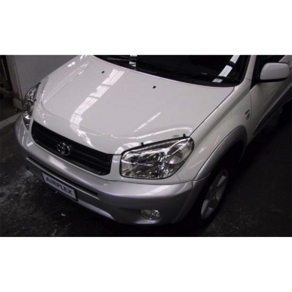 Купить Пластиковая защита фар Aiplex (карбон.) Toyota Rav-4 03+ 616 Airplex