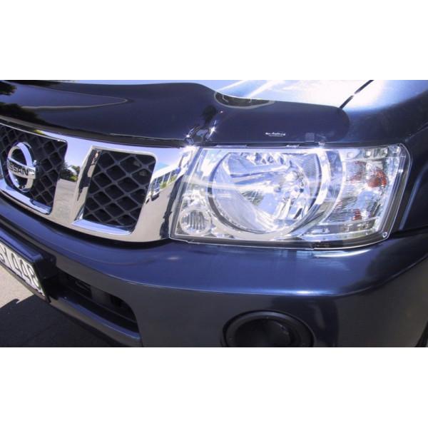 Купить Пластиковая защита фар (прозрачн.) Airplex  Nissan Patrol 05+ HG630 Airplex