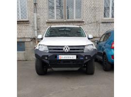 Установка бампера RIVAL на VW Amarok